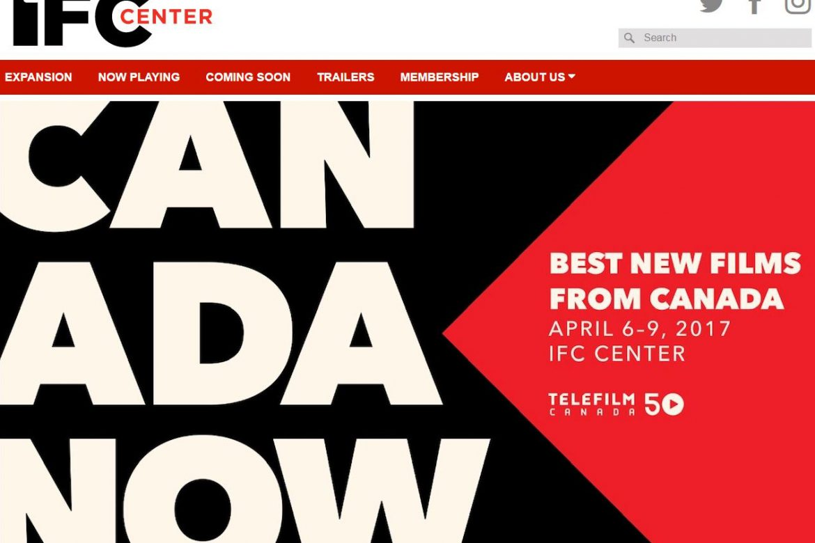 "NYC's 2017 ""Canada Now"" Film Festival now playing at IFC Center"