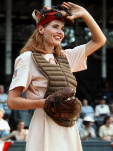 A League Of Their Own Geena Davis