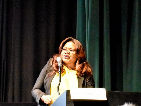 Newsradio anchor Felicia Middlebrooks talks Oscar panel, production company