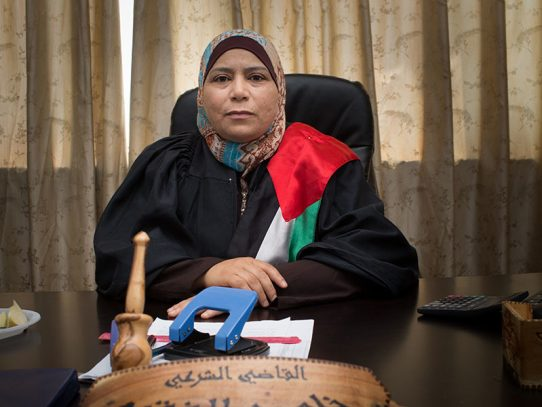 'The Judge' director Erika Cohn documents first female judge in Palestinian court