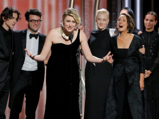 Time's up: How women nominees fared at the 75th Golden Globes
