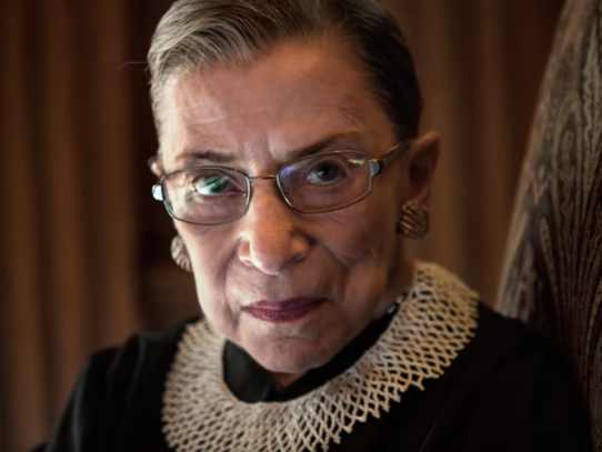 'RBG' documents extraordinary life of Ruth Bader Ginsburg