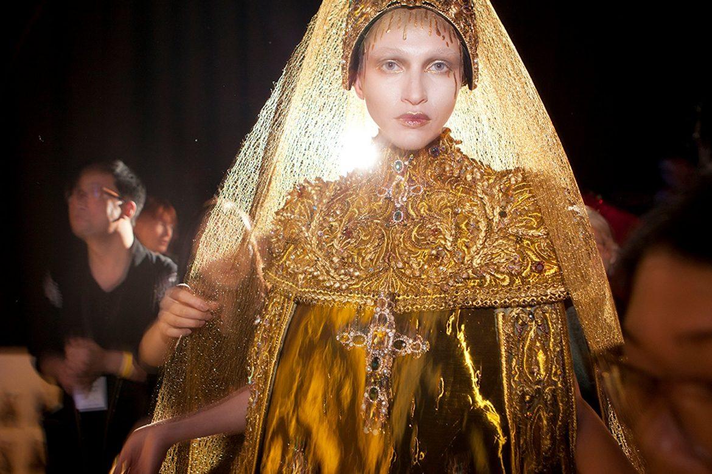 'Yellow is Forbidden' peeks into fashion house of Guo Pei