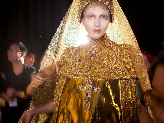 'Yellow is Forbidden' peeks into fashion house of Guo Pei