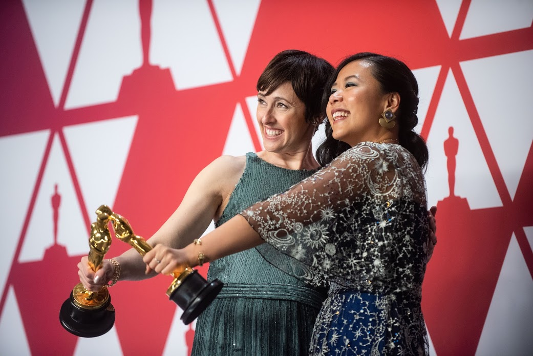 Women Supporting Women: FF2 Media Backstage at Oscars