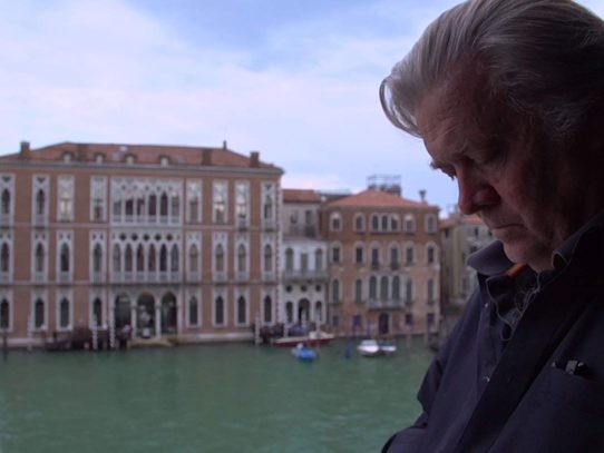 Alison Klayman documents disturbing world of Steve Bannon in 'The Brink'