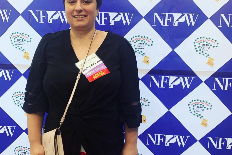 FF2 Media Contributor Nikoleta Morales awarded at NFPW Conference