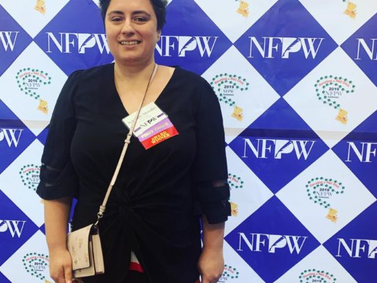 FF2 Media Contributor Nikoleta Morales awarded at NFPW Conference
